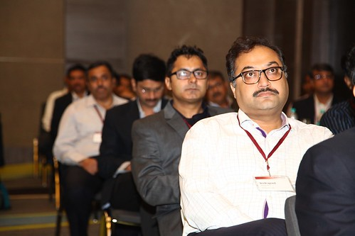 Moment captured with delegates during keynote session