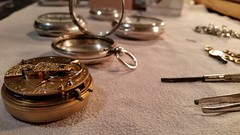 old watches (Brendan Schmidt) Tags: antique pocketwatch fusee