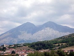 """Monte Velino and Monte Cafornia from the road back to Rome • <a style=""""font-size:0.8em;"""" href=""""http://www.flickr.com/photos/41849531@N04/19753528355/"""" target=""""_blank"""">View on Flickr</a>"""