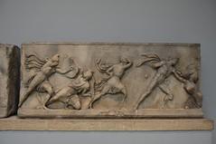 Sculpture from the Mausoleum of Halicarnassus, ca. 350 BCE (3) (Prof. Mortel) Tags: london mausoleum britishmuseum halicarnassus
