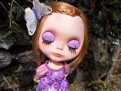 My Little Unicorn (Missy_Crane) Tags: butterfly purple bees delight blythe freckles custom simply imogen unicorn dreamland dollhouse miema