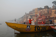 Boat for hire (saish746) Tags: city morning people woman sun india man men heritage history girl river naked nude temple death boat women worship breast place riverside outdoor indian avatar lord holy experience sacred varanasi hanuman bathing shiva sublime hindu hinduism dip kashi oldest ganga asi ganges pradesh cremation ghats banaras aarti pilgrims benaras ghat kedar uttar kaal bihar vishwanath dasaswamedh manikarnika bhairav harishchandra dasaswameth
