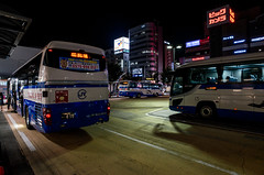 Hightway Bus Terminal, Nagoya Station (kinpi3) Tags: japan night cityscape nagoya gr ricoh 21mm meieki tsubakicho