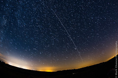 2nd Pass of the ISS over Beacon Hill (Mark Chance Photography) Tags: sky night stars space astro astrophotography astronomy iss internationalspacestation