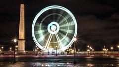 Grande roue (justmegalo) Tags: light paris night amazing lumire capital passage paysage soir nuit ville placedelaconcorde granderoue cityoflights oblisque parisbynight villelumiere pauselongue