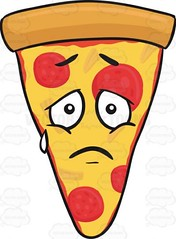 Slice Of Pepperoni Pizza With Single Tear Looking Sad Emoji (hogan469) Tags: pizza food cheesy pepperoni crust cheese mozzarella cartoon slice cheeza pizzaslice caricature thickcrust thincrust chicagostyle americanpizza pepperonislices pepperonichips mozzarellacheese meltedcheese cartoonface faceonfood trianglepizza singleslice single pizzapie pie saddened sad distressing pitiful sorry bittersweet depressing depressive gloomy heavyhearted melancholic melancholy mournful saddening sorrowful emoji emoticon smiley smilies