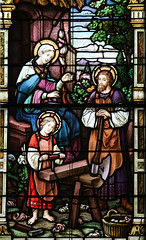 The Holy Family of Nazareth (Lawrence OP) Tags: holyfamily otherkeywords