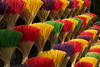 Incense Sticks (steve_whitmarsh) Tags: vietnam asia orient hue yellow red blue pink incense travel art x16