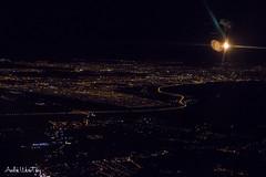 Night (Andre Werutsky) Tags: aereaspaisagemazulvoeazulportoalegrecampeche rodovia do parque night wingview canoas esteio