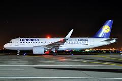 D-AINB  A320-271N(SL)  Lufthansa (n707pm) Tags: dainb a320 320 airbus 320neo 320sl airport aircraft airplane airline dlh eidw ireland dub collinstown nightshot 10122016 dublinairport lufthansa dlh981 cn6864