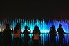 Let light shine out of darkness (Ferdousi.) Tags: light fountain nightlight travelphotography silhouette uae dubai tourist