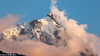 Blick auf die Aiguille du Midi (3842 m) oberhalb von Chamonix, Frankreich (Bernd Edelmann) Tags: aiguille du midi frankreich chamonix alpen natur berge landschaft landsca nature mountains france