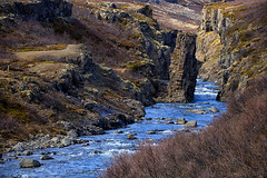 where the wild river flows (lunaryuna) Tags: iceland northwesticeland landscape rocks mountain river riverbed nature wilderness lunaryuna