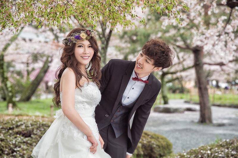 [自助婚紗] 永嬌 & 凱平 / 海外京都婚紗