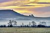 Ivinghoe at sunrise (paulinuk99999 - tripods are for wimps :)) Tags: paulinuk99999 buckinghamshire ash ridge early morning sunrise frost december 2016 winter ivinghoe beacon sal70400g explore
