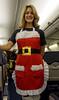 Krista, the flight attendant on our flight from California to Portland on X'mas day (Poupetta) Tags: stanger krista flightattendant