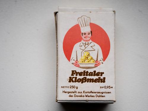 Freitaler Kloßmehl - DDR-Kaufmannsladen