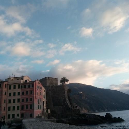 Oggi a Camogli il tempo era così ... freddino e incantevole !