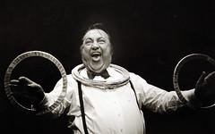 devos  j brel 1992 jpg (patrickdeby) Tags: raymond devos spectacle jacques brel fontenay école duruy victor eleve humour clown musicien deby patrick 1992 cirque numero absurde bw nb affiche métro paris france