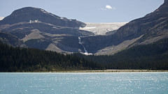 Under the Summer Sun DSL4126 (iloleo) Tags: landscape alberta canada bowlake waterfall glacier summer banffnationalpark mountains forest scenic nature nikond7000