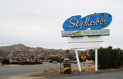 Sky Harbor Motel, Yucca Valley California (Cragin Spring) Tags: california ca southerncalifornia unitedstates usa unitedstatesofamerica neon neonsign motel motelsign vintage vintagesign oldsign skyharbormotel yuccavalley yuccavalleyca yuccavalleycalifornia