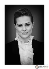 Evan Rachel Wood (ChinellatoPhoto) Tags: venezia venice venicefilmfestival mostradelcinemadivenezia venezia68 cinema attore attrice actress actor regista director blackwhite ritratto portrait evanrachelwood