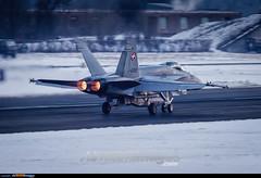 Sion Airport: F/A-18C Hornet (Simone Ciaralli - AirTeamImages) Tags: saimonvolo saimon simone ciaralli sion switzerland aviation avgeek airteamimages olympus zuiko swissairforce military