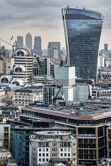 London Calling. (Andy Bracey -) Tags: london cityoflondon greatbritain england building walkietalkie skygarden theviewfromsaintpaulscathedral cityscape landmark londoncalling tourist cranes sealedwithakiss xmarksthespot canarywharf docklands skyscaper fenchurch 20fenchurchstreet fenchurchstreet financialdistrict architecture