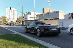 Audi R8 V10 Spyder (All about wheels) Tags: cars portugal hp rich performance lifestyle super spyder porto audi luxury rare supercar spotting v10 horsepower supercars quattro r8