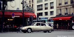 Citron DS 1969 (XBXG) Tags: auto old paris france classic 1969 car vintage french automobile ds citron voiture frankrijk ancienne tiburn snoek citronds desse franaise strijkijzer 60ansdelads bmds694h