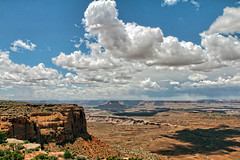 Orange Cliffs Overview (Martin Carey) Tags: trees shadow sky usa cloud clouds america canon landscape iso100 utah nationalpark unitedstates outdoor scenic canyon canyonlands 1200 overview 2015 170mm canonphotography orangecliffs canoneos60d flashoffdidnotfire 130 martincarey may192015 orangecliffsoverview