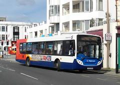 Olympic Visitor - 22767 - OU09BZN (Southern England Bus Scene) Tags: man worthing olympics stagecoach 22767 ou09bzn