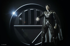 Black Lantern Superman (squesada70) Tags: black comics toy actionfigure dc geek superman lantern dccomics superheroes geeko toyphotography blacklantern blackestnight
