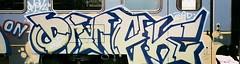 Omaek193 - DSP - Pesaro (omaek193) Tags: train graffiti treno pesaro nineties padova dsp 193 omek omaek193 dspcrew omaek