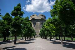 Flak Tower in Augarten park (leaderofourboat) Tags: vienna wien austria ww2 flak