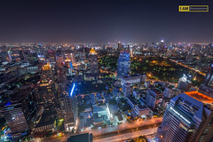 Bangkok night life. (Boszanova_EK) Tags: travel night dinner thailand hotel nikon bangkok thai nightlife siam bkk banyantree banyantreehotel ishootraw nikonphotographer iamnikon bangkokbigcity