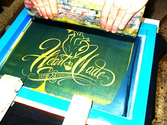 heartmade (serigrafia.zenor) Tags: screenprinting oro serigrafia heartmade zenor