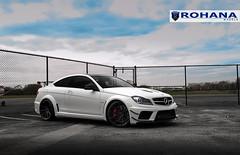 MB Black Series C63 RF1 (5) (Rohana Wheels) Tags: auto cars car photography photo photoshoot outdoor wheels tire automotive vehicle rim luxury concave luxurycar rohana rohanawheels rohanawheelscom