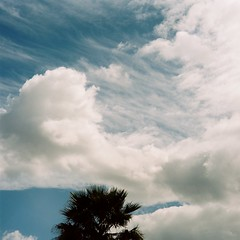 Arizona spring clouds