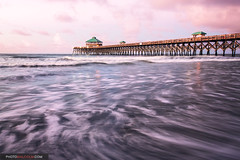 Folly Beach Pier (Malcolm MacGregor) Tags: beach pier southcarolina charleston folly