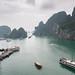 Ha Long Bay Vietnam the view :)