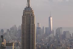 NH0A6122s (michael.soukup) Tags: newyork newyorkcity skyline manhattan empirestate worldtradecenter cityscape sunset dusk skyscraper citylights architecture midtown rockefeller 30rock tower bluehour night nyc building outdoor city