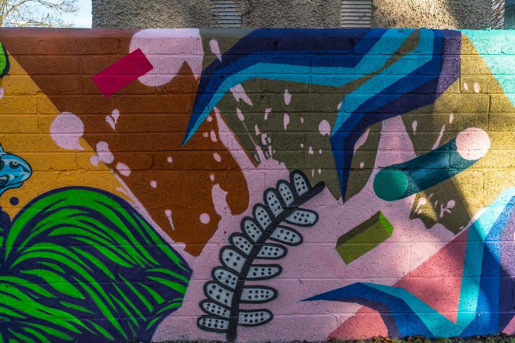NEW STREET ART AND NEW TEAROOMS [HERBERT PARK DUBLIN]-124053