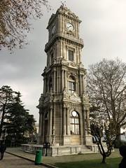 Dolmabahçe Clock Tower (pixbydouglas) Tags: dolmabahçe istanbul