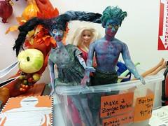 (austincreativereuse) Tags: zombie barbie doll reuse