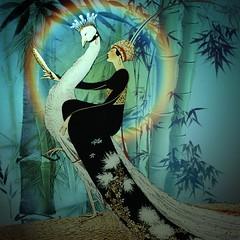 Vanities (jaci XIII) Tags: vaidade pessoa mulher pavão ave animal vanity person woman peacock bird