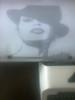 Dama con sombrero II (elartistadelamaquinadeescribir) Tags: dama sombrero puntodecruz maquinadeescribir manualidades manualidad diseño dibujo diseñol arte artesanias typer art