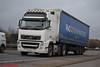 Volvo FH 'A J C Transport' reg KU61 EDV (erfmike51) Tags: volvofh truck artic curtainside lorry ajctransport