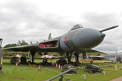 Avro Vulcan B2 XM575 (SparkyMark's Aircraft ✈) Tags: raf royal air force ema eastmidlandsairport museum aviation v vbomber nuclear deterrent bluesteel vulcan xm575