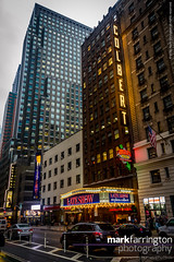 Late Show Studios (Mark R Farrington) Tags: 7d america autumn billboard canon city digital eos nyc newyork photography street theatre usa bigapple downtown lateshow manhattan unitedstates